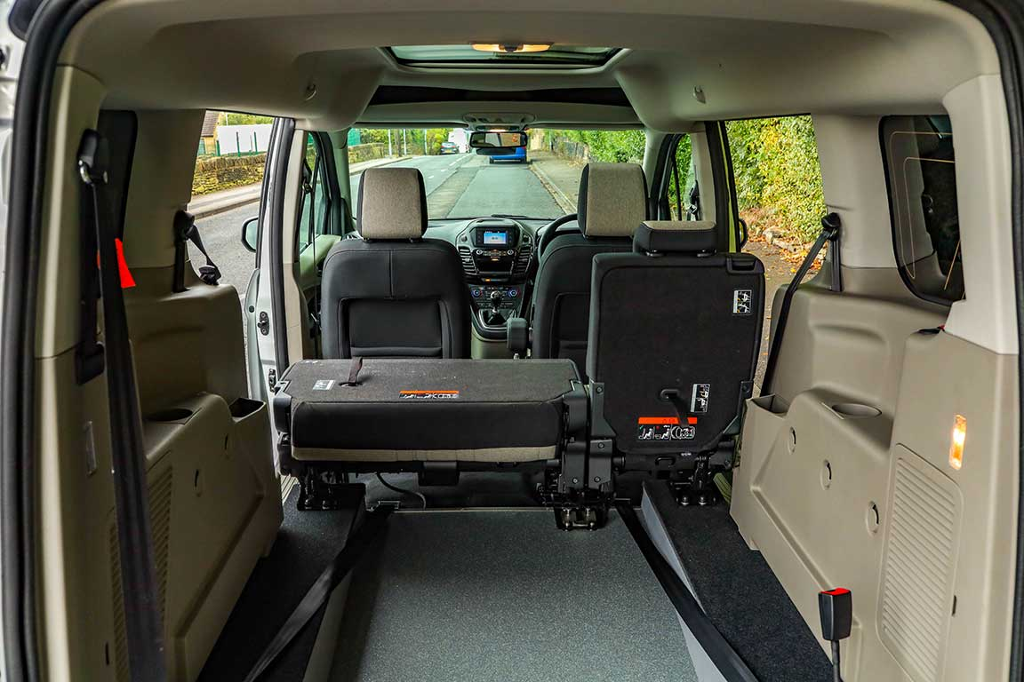 Wheelchair Accessible Ford Tourneo Connect Overview Bristol