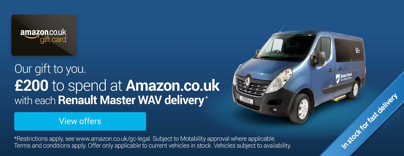 Renault Master - Versa Amazon Gift Card Offer