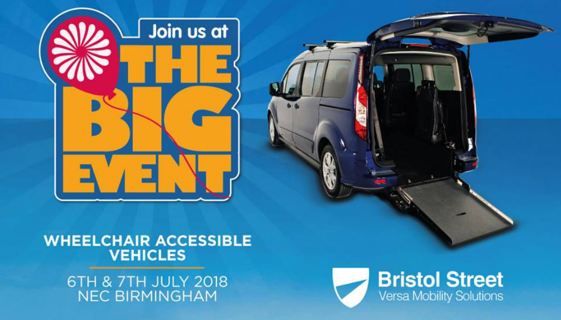 Join Bristol Street Versa at Motability's The Big Event