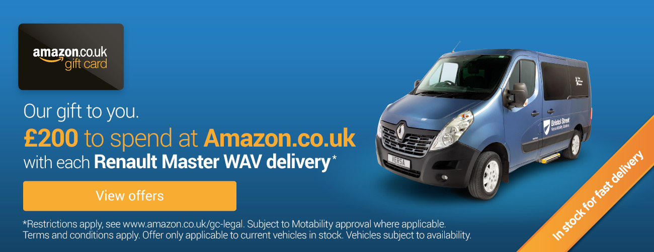 Renault Master - Versa Amazon Gift Card Offer 280119