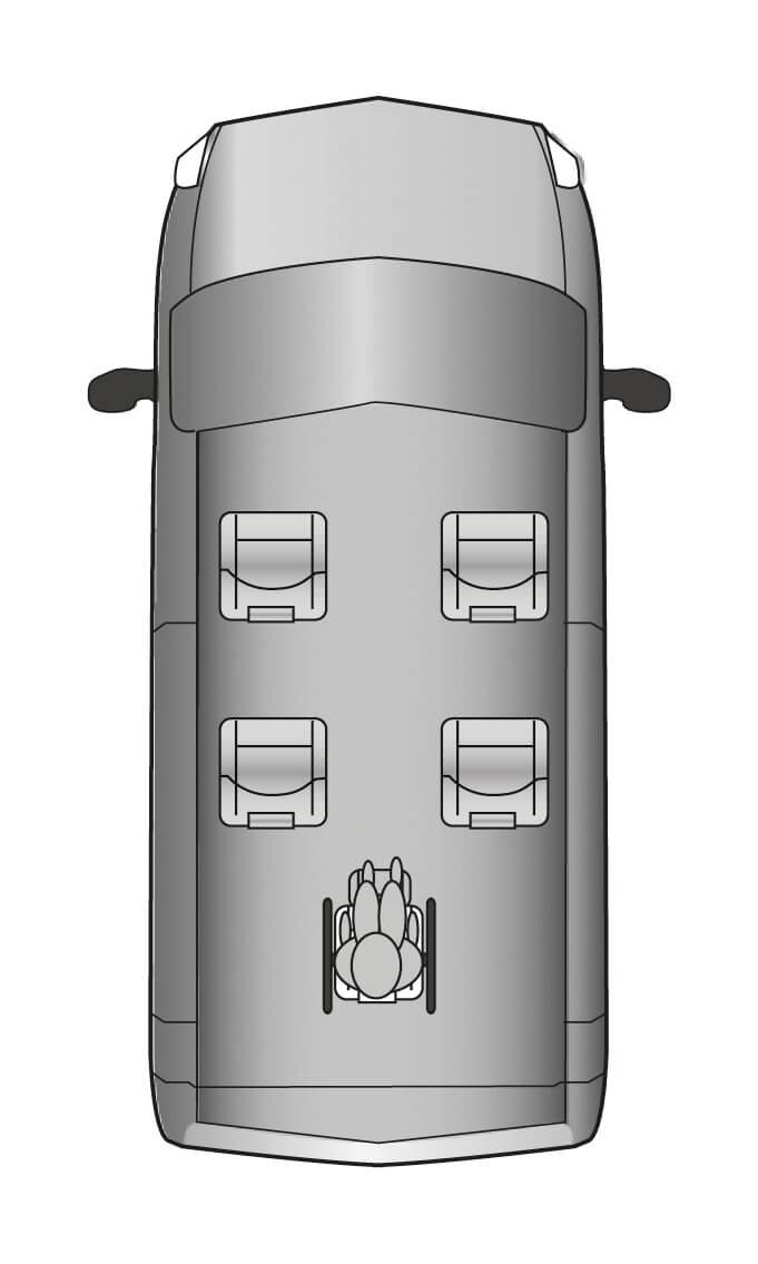 Citroen Berlingo WAV Layout
