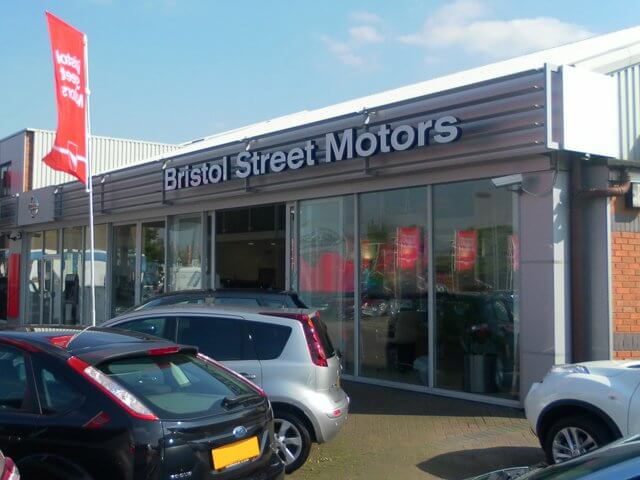 Bristol street versa widnes motability dealers in widnes for Bristol motor mile dealerships