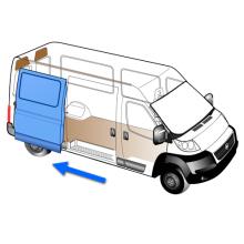 Auto Side Sliding Door for Vans